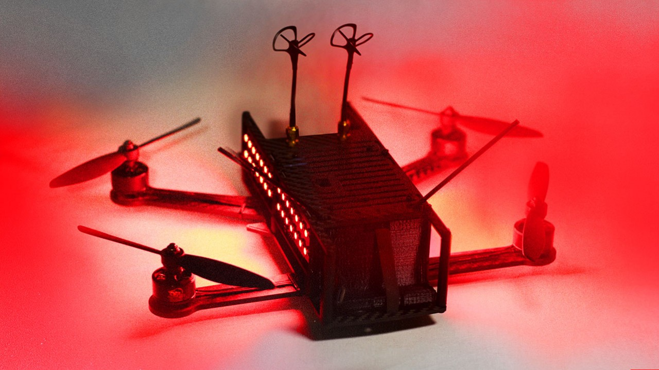 The DRL Racer1:  Made for top speed, agility, pilot identification and HD FPV.